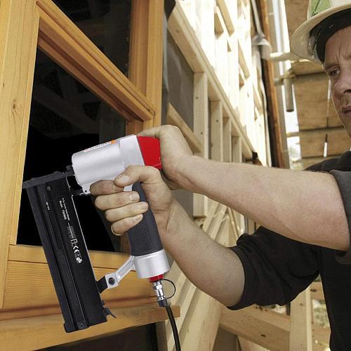 Nail Gun Riveter Stapler Furniture Manual Framing Nail Gun Kit For Wood Carpentry 2-in-1 Stapler Door Nailers Rivet Tool