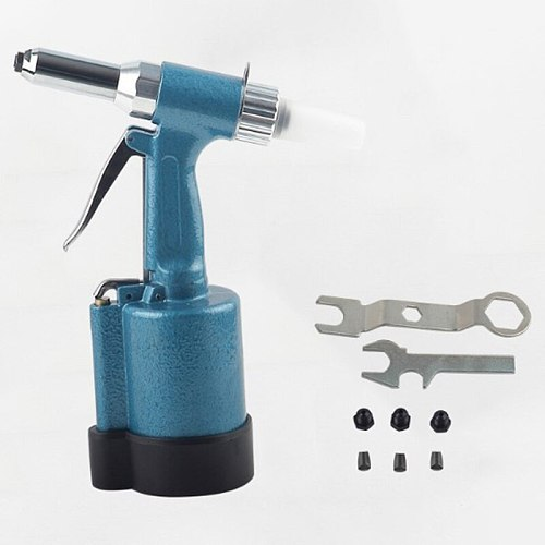 Promotion! The Pneumatic Blind Rivet Tool 2.4-5.0Mm With Waste Rivets Collection Bottle Blind Rivet Tools
