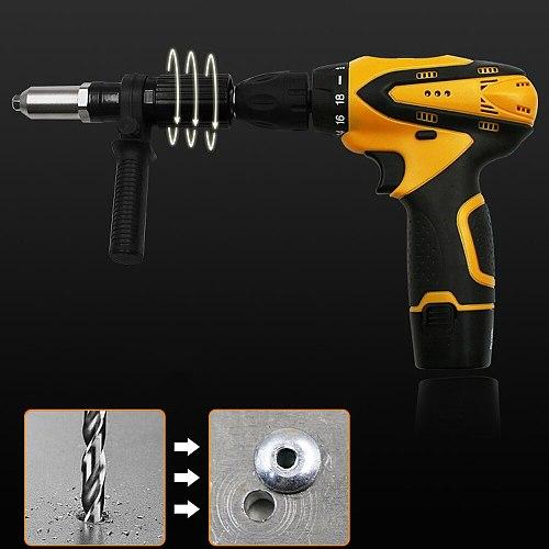 Pull Riveting Machine Electric Rivet Nut Machine Core Pull Accessories Attachments Cordless Riveting Drill Riveter Insert Nut