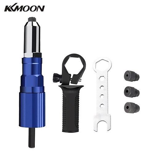 KKMOON 2.4mm-4.8mm Electric Rivet Nut Tool Bit Adapter Cordless Riveting Tool Conversion Connector Insert Nut Pull Rivet Tool