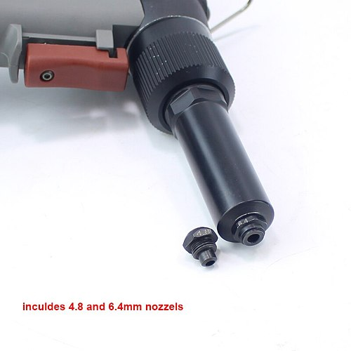 YOUSAILING Quality 4000HV 4.8-6.4mm Vacuum Pneumatic Hydraulic Rivets Gun Rivet Guns For Riveting 6.4mm Stainless Steel Rivets