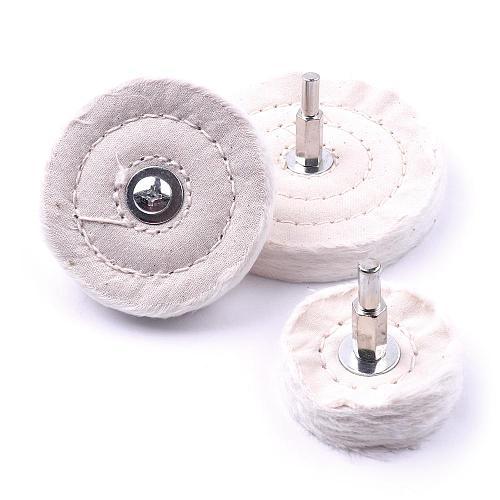 1PC 50mm 75mm 100mm  T  Cloth Round Polishing Pad Diamond Polishing Pads For Metal Jewelry Wood Polish Tools