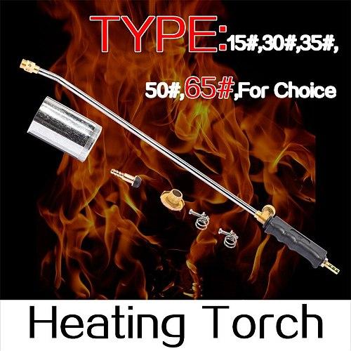 Heating Torch 15~65# Soldering Propane Butane Gas Flame Blow Plunber Roofing Stainless Steel Soldering Gun
