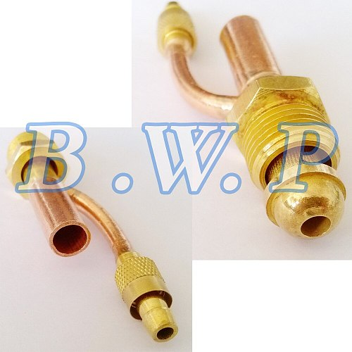 Thread 5/8  -18 Male Gas and Electricity Seperated Cable Front Connector For WP-26 Torch