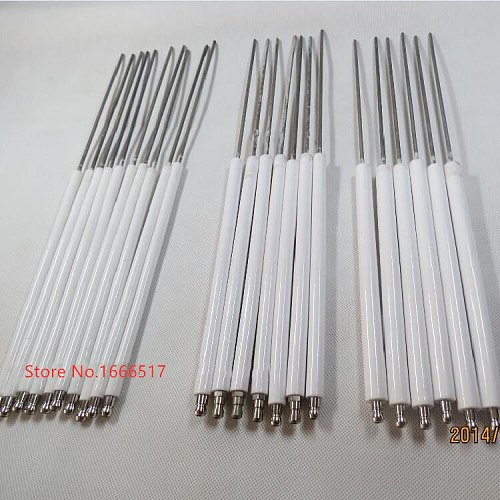 One piece Long Ceramic Ignition Electrode/Sparker/Spark Ignitor Rod 8mm/10mm/12mm diameter brand new rh