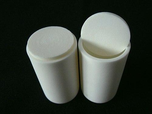 99.3% alumina crucible with lids / 40ml / cylindrical corundum crucible / ceramic crucible