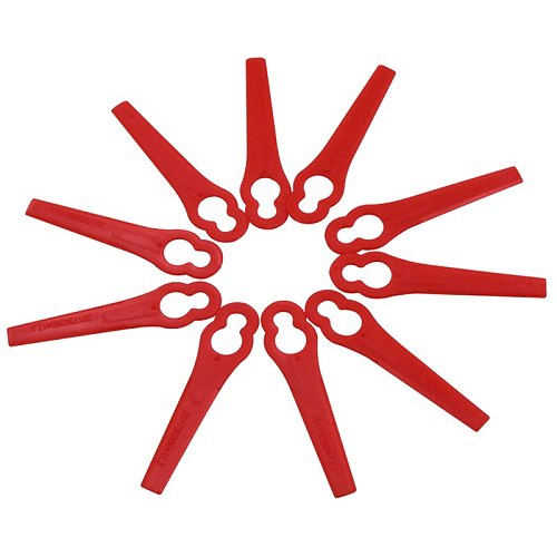 120Pcs for Florabest LIDL FRTA 20 A1 Lidl IAN 282232 Replacement Plastic Cutter Blades for Florabest Grass Trimmer Brushcutte