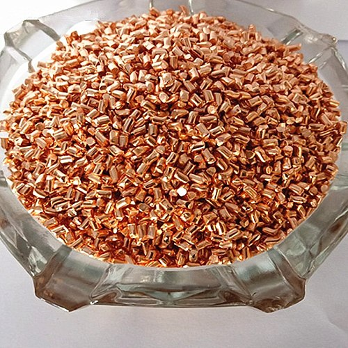 Pure Copper Grain High Purity Cu 99.99% 4N for Collection Metal Particles Simple Element Crafts