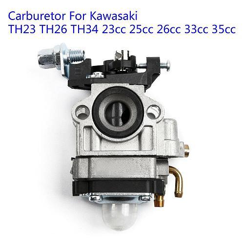 Carburetor For Kawasaki TH23 TH26 TH34 23CC 25CC 26CC 33CC 35CC Spark Plug Kit Replacement Power Tool High Matched The Original