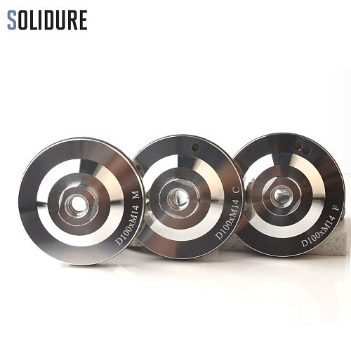 4 inch 3pcs/set resin filled aluminum diamond cup wheels turbo grinding Aluminum backer for grinding stone,concrete and tiles