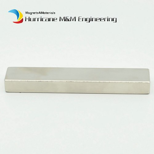 5pcs NdFeB Magnet Block about 100x20x10 mm Long bar Super Neodymium Permanent Magnets Rare Earth Industry Magnet