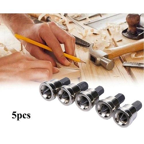 5PCS Screwdriver Bits Plasterboard Drywall S2 Hex Screwdriver Bits Kit Screw Drive Tools Set Drill Bit Screw Driver Bits