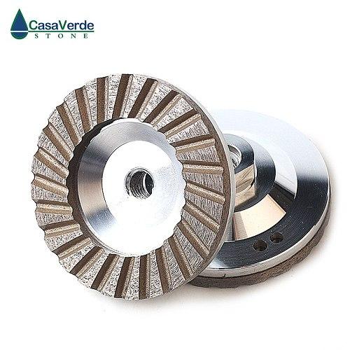 DC-ACW 1pcs/carton diameter 100mm (4 inch)  aluminum backer diamond grinding wheels for grinding stone