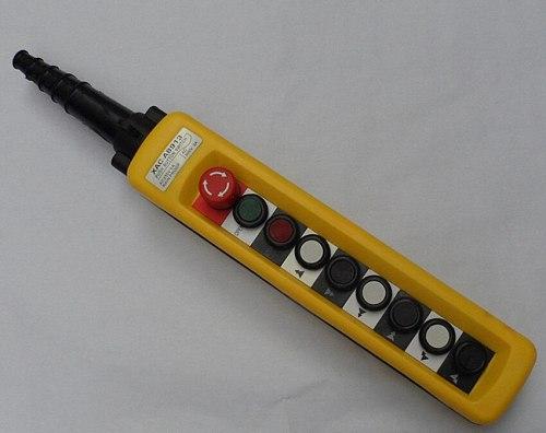 XAC-8913 2Speed Operators Hoist Crane 8 Pushbutton Pendant Control Station NEW  NE