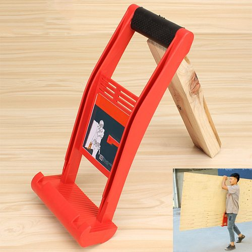 HOT 80kg Load Tool Panel Carrier Plier Drywall Handle Plywood Bedspread ABS For Carrying Glass Plate Chalk Board  PLD