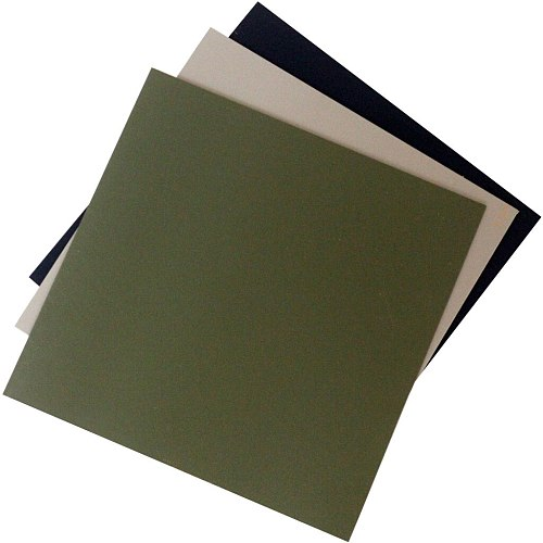 2.0MM Kydex Sheet great for DIY Knife Sheath Holster Tool Parts Black Sand Army Green