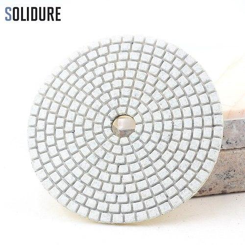5pcs/set 4 inch 100mm Diamond Dry or Wet 5 Step Polishing Pads Granite Marble or Concrete Polishing Tool