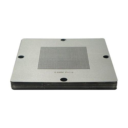 Universal Stencil BGA Reballing Kit with 29pcs/lot  90*90mm 90x90mm BGA Stencils 90 BGA Reballing stencil 0.5/0.6/0.65/0.76/1.0