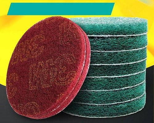 3m velvet cloth industry with angle grinder polishing sheet 5 inch back velvet polishing sheet clean rust-removal velvet piece.