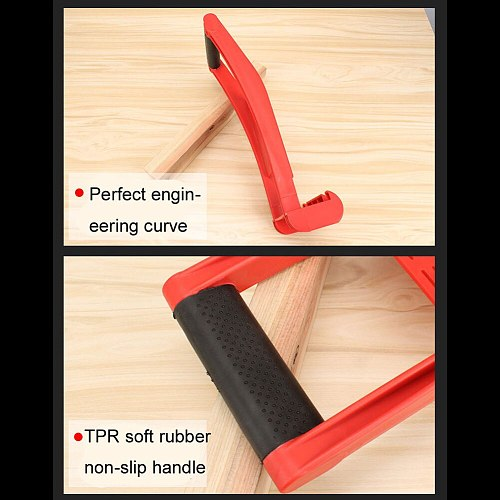 Panel Carrier Gripper Handle Carry Drywall Plywood Sheet ABS 80KG Load Tool OCT998