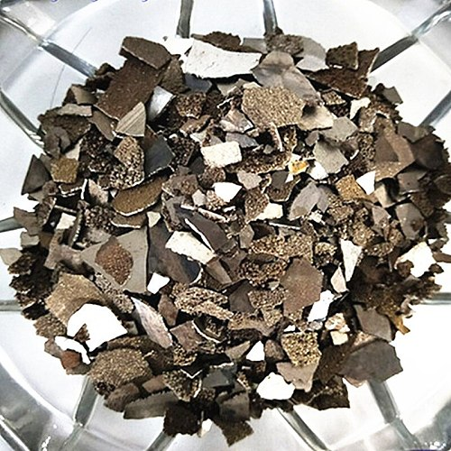 Electrolytic Manganese Grain High Purity 99.99% Mn Particles Simple Element for Collection and Research