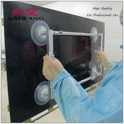 4 Suction Cups TV Display screen glass vacuum Sucker,suction device LED LCD television screen,vacuum lifter TV Screen sucker