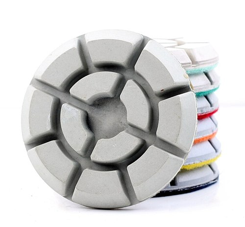 Free shipping DC-TYFL01 diamond 3 inch D80mm floor polishing pads for stone or concrete floor