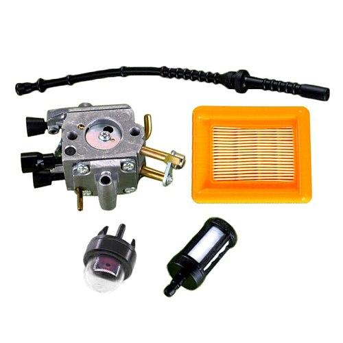 Carburetor Air Fuel Filter Pack For STIHL FS400/FS450/FS480 String Trimmer Tool