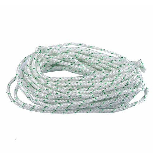 2Pcs Strong 4M Recoil Starter Cord Pull Start Rope For Husqvarna Chainsaws Atco Briggs Stratton Lawn Mowers Engine 4mm Hard Wear