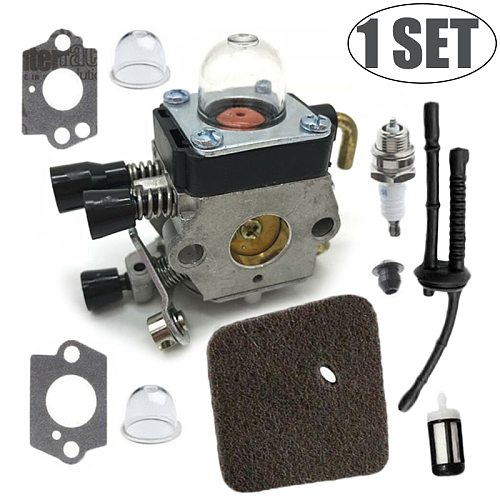 1 set Carburetor For Stihl HS45 FS55 FS310 Hedge Trimmer Chainsaw Zama C1Q-S169B 4140 120 0619 Part Replacement For Stihl