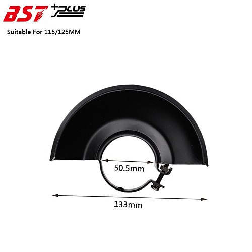 Black Metal 115/125MM Dia Wheel Safety Guard Protector Cover For Angle Grinder,Power Tools Accessoires,Spare Parts