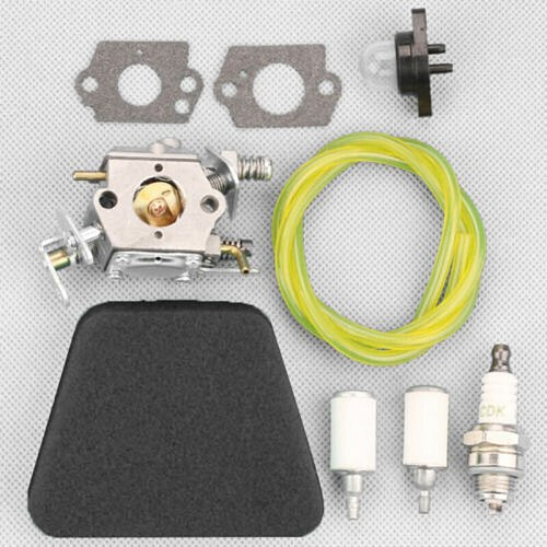 9pcs/pack Carburetor Gaskets Kit For McCulloch Mac 333 335 338 435 436 438 440 Spare Parts Air Fuel Filter Spark Plug