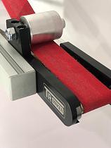 TR Maker Belt Grinder 2x72 small wheel set & holder for knife grinders 2 big wheel compression