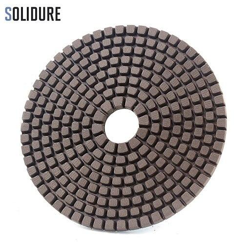 5pcs/set coppen bond 4 inch 100mm dry or wet 5 step polishing pads Diamond Granite Polishing Tool Marble Concrete Grinding