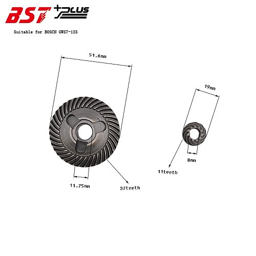 Gear  For BOSCH GWS7-125 Angle Grinder, Power Tools Spare Parts