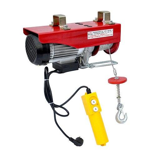 Electric Hoist Crane Overhead Garage Winch Remote Control Auto Lift 400KG 980W Y