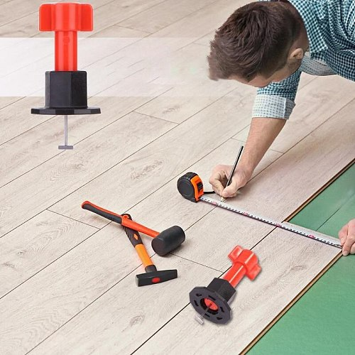 10/20/50/100pcs/set Level  Floor Spacers Wedges Tile Levelerfor Wall Flooring Leveling System Spacer Leveler for Decoration Team
