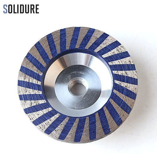 4 inch Coarse# grinding resin filled aluminum diamond cup wheels with Aluminum backer for grinding stone,concrete and tiles
