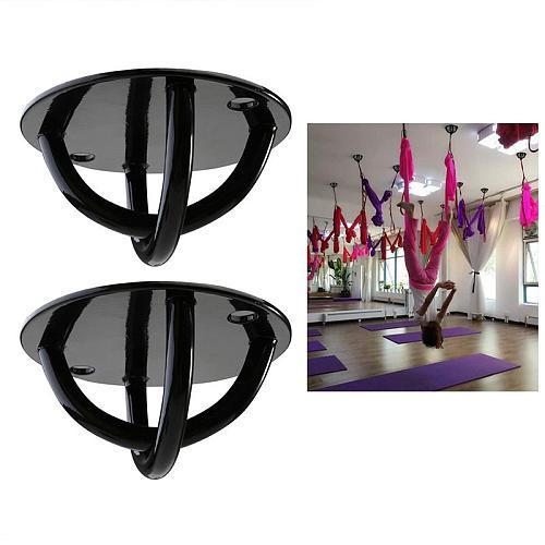 2pcs Suspension Strap Trainer Mount Anchor Bracket Hook Fitness Exercise For Trainer Straps Crossfit Yoga Swings & Hammocks