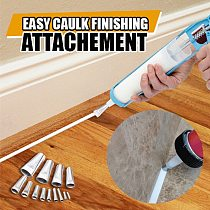 14Pcs/Set Caulking Finisher Stainless Steel Caulk Nozzle Applicator Sealant Finishing Tools Home Decoration Tools