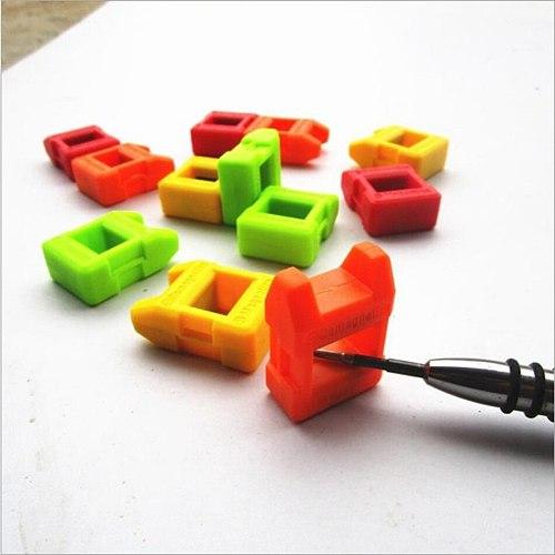 5 Piece  Magnetizer Demagnetizer Tool Screwdriver Magnetic Pick Up Tool Multicolor