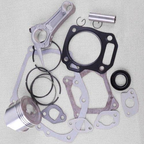 7pcs Gasket Piston Pin Circlip Ring Oil Seal Gasket Kit For Honda GX160 5.5HP and GX200 6.5HP engine Engine Use Set Piston Ring