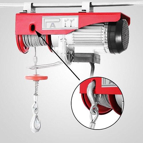 220V Scaffold Mounted for Workshop Garage 800kg Electric Lifting Winch Hoist