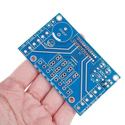 1PCS 12V New DC Power Amplifiers TDA7388 Four Channel 4x41W Audio BTL PC Car AMP PCB Hot