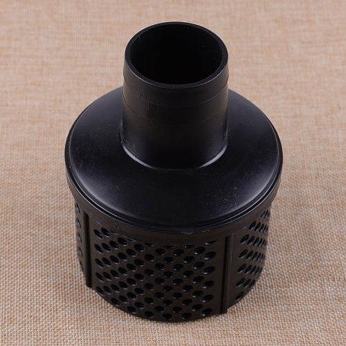 LETAOSK New Black ABS Dirty Water Drainage Sewage Pump Suction Hose Strainer Filters for 2  (50mm) hose Pumps