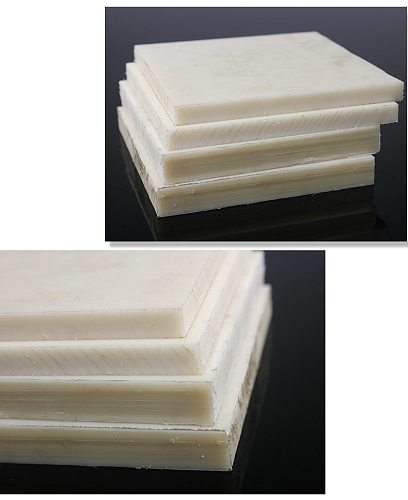 Polyamide Plate PA Sheet White Color Nylon Board Mould Mold Plank Insulation Material DIY Tool High Strength Plastic All Size