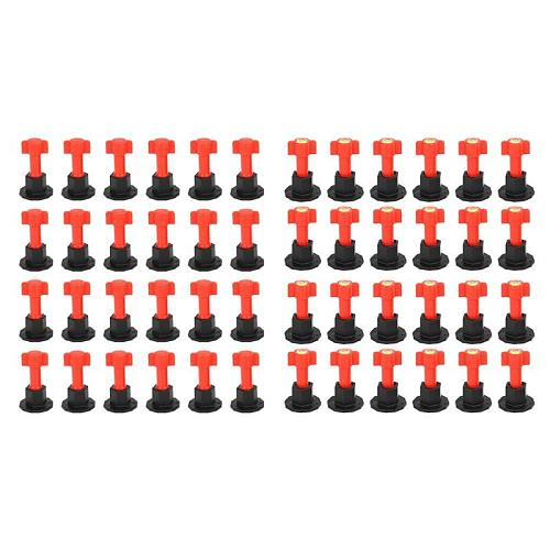 50/75pcs Level Wedges Alignment tile spacers for Leveler Locator Spacers Plier Flooring Wall Tile carrelage Leveling System