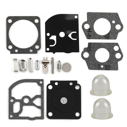 Carburetor Carb Repair Kit For Stihl HS45 FS38 FS55 BG45 Zama C1Q-S High Quality Primer Bulb+Gaskets+Fittings