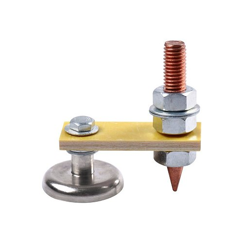 Magnetic Welding Clamp Coppers Small Magnetic Welding Magnet Ground Clamp Holder welding tools escuadra magnetica para soldar