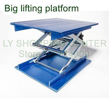 20 x 25 CM Big blue manual lifting platform,lifting table,lab lift table,Laboratory lifting platform,laboratory instrument